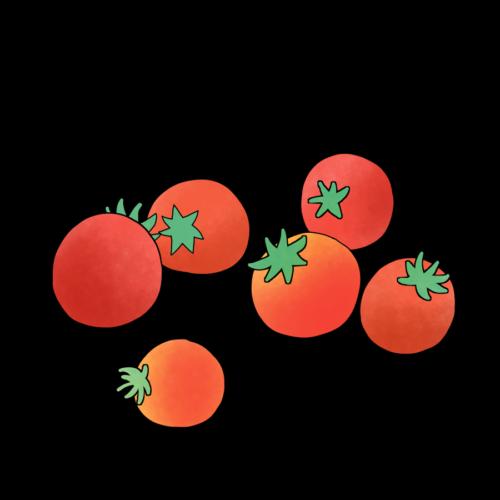 ミニトマト かわいい イラスト フリー 無料