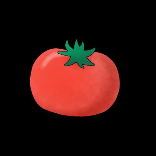 ヘタ トマト かわいい イラスト フリー 無料
