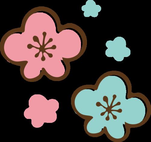 梅の花 かわいい イラスト フリー 無料