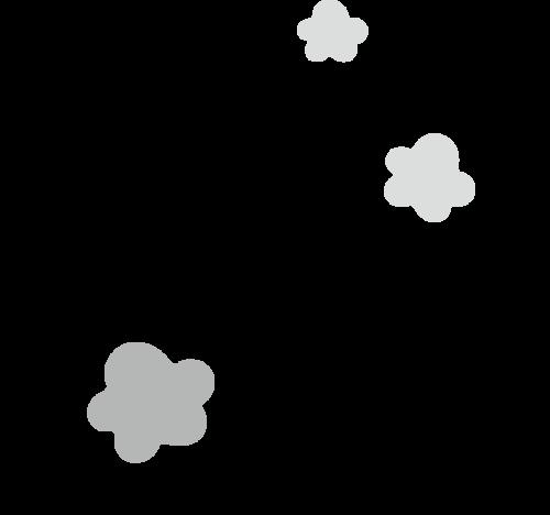 梅の花 かわいい イラスト フリー 無料 白黒 モノクロ