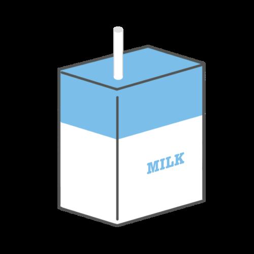 紙パック 牛乳 かわいい イラスト フリー 無料