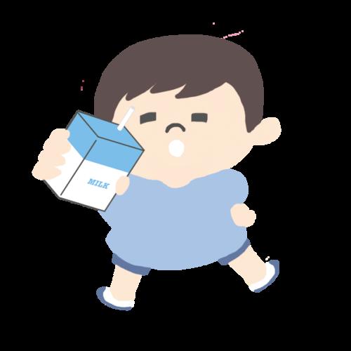 牛乳パック 子供 かわいい イラスト フリー 無料
