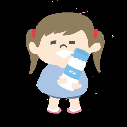 牛乳 瓶 子供 かわいい イラスト フリー 無料