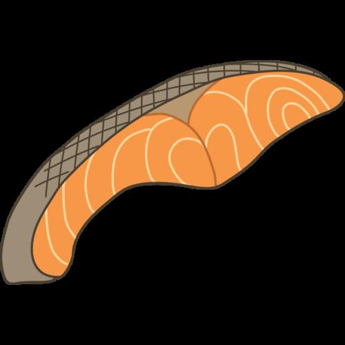 鮭 切り身 イラスト フリー 無料
