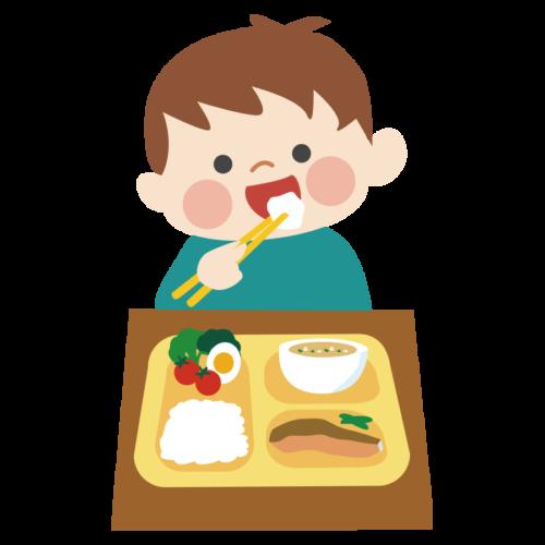 幼稚園 給食 子供 かわいい イラスト フリー 無料