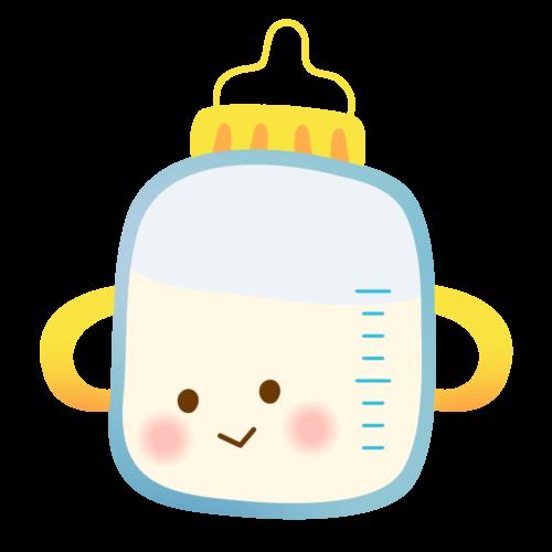 ミルク 哺乳瓶 かわいい イラスト フリー 無料